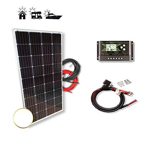 Kit 175W PRO 12V panel solar monocristalino células alemanas