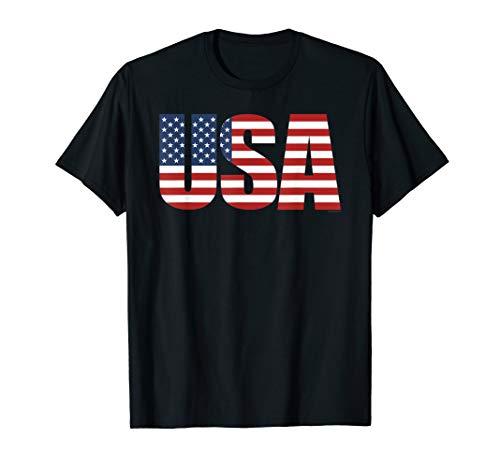 Patriotic Shirts For Women & Men USA American Flag Shirt T-Shirt