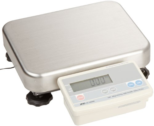 A&D Engineering FG-30KBM Bench Scale, Low Profile Model, Medium Pan, 30kg Capacity, NTEP Approved, 110V