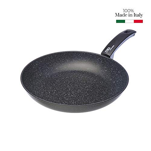 Moneta 0008650132 Etnea Padella, Alluminio forgiato, Nero, 32 cm