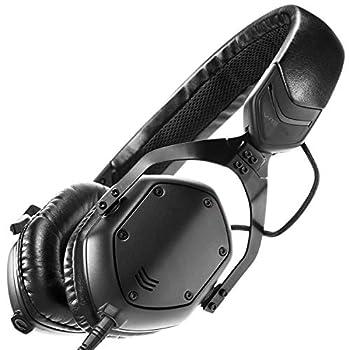 V-MODA XS On-Ear Folding Design Noise-Isolating Metal Headphone  Matte Black Metal