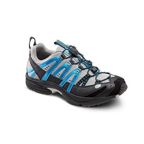 Dr. Comfort Performance Men's Therapeutic Athletic Shoe: Metallic/Blue 11 Medium (B/D)