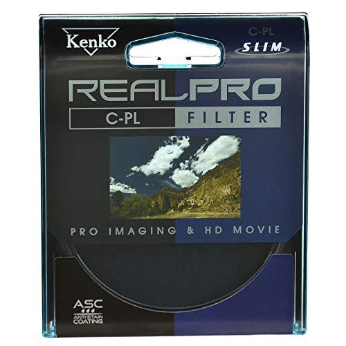 Kenko - Filtro de la foto - un filtro polarizador real pro mc delgado de 46 mm - un filtro polarizador tornillo de 46 mm