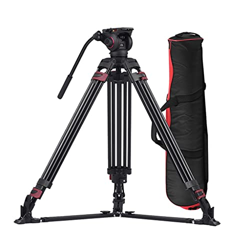 CIFE Fotografia Professionale 3 Sezioni Treppiede in Lega di Alluminio per Fotocamere Canon Nikon Sony DSLR Videocamere