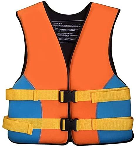YZJL Chaquetas y Chalecos salvavidasChaqueta Flotante de Seguridad, Transpirable, tamaño Ajustable, Kayak, embarque, Pesca, Chaleco Salvavidas, Chaleco para niños Adultos(Size:X-Small)
