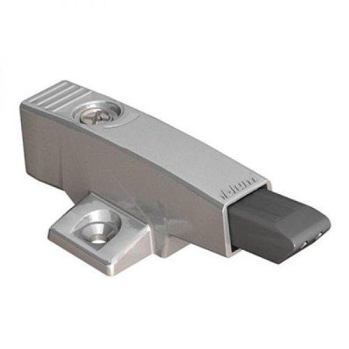 BLUM 6823743 BLUMOTION in Adapterplatte, kreuz (37/32), Zink, Spax-Schrauben, Bauhöhe: 33 mm