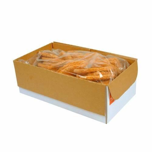 Advance Food Breaded Pork Patties, 3.2 Ounce -- 50 per case.