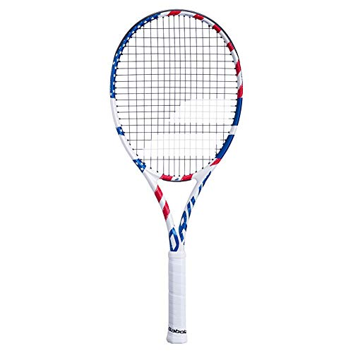 Babolat Pure Drive USA - Racchetta da tennis, Unisex - Adulto, 4 1/4