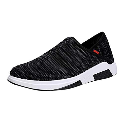 HunYUN Women's Old Beijing Cloth Shoes Lazy Breathable Shoes Comfortable Casual Shoes Fashion Boat Shoes