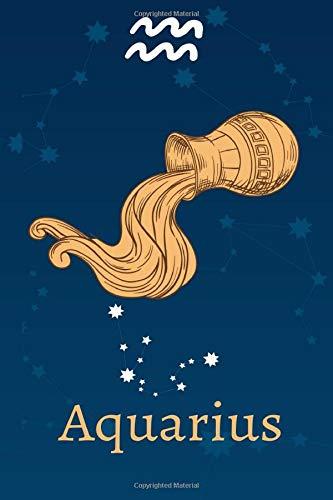 Aquarius: Zodiac Astrology Design Journal 6x9 (Astrology Notebook & Zodiac Gifts)