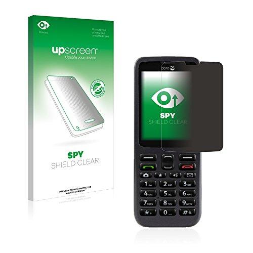 upscreen Anti-Spy Blickschutzfolie kompatibel mit Doro 5516 Privacy Screen Sichtschutz Bildschirmschutz-Folie