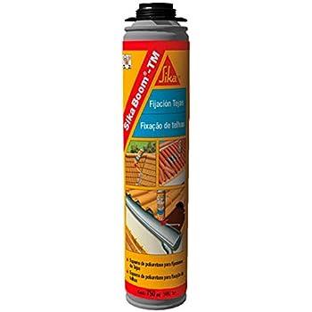 Sika Boom TM, Espuma de poliuretano para pegado detejas de aplicación manual, 750ml, Rojo: Amazon.es: Bricolaje y herramientas