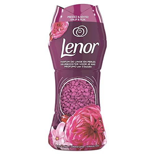 Lenor Parfum de Linge en Perles pour Lessive, Collection Coup de Foudre avec une Fraîcheur Longue Durée, (210 g)