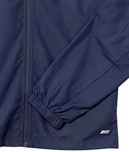 Amazon Essentials Packable Water-repellant Run Jacket, Navy, L