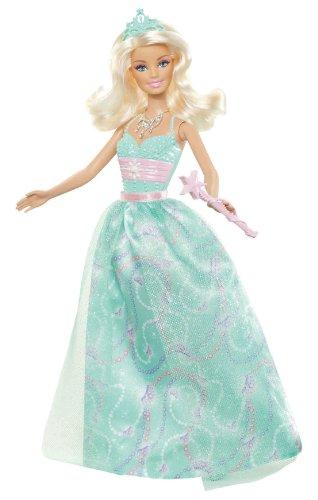 Barbie - W2860 - Poupée - Fée Fairytale Robe - Vert
