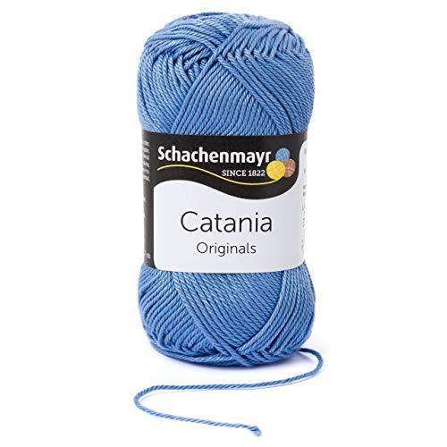 Schachenmayr Catania 9801210-00247 wolke Handstrickgarn, Häkelgarn, Baumwolle