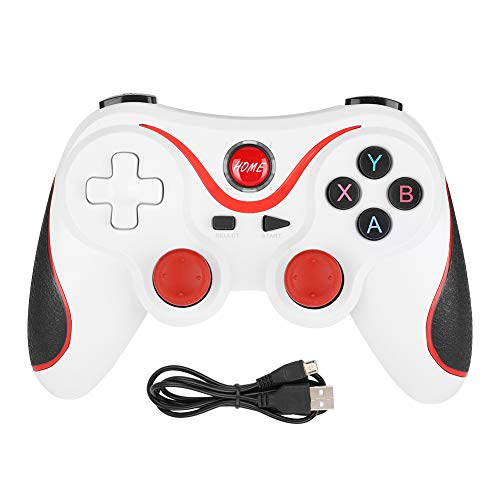T3 Gaming Controller Gamepad, Wireless Bluetooth4.0 Game Handle Operation, Console Remote Gamepad con LT/RT Joystick para PS3 Host y Smart Phone