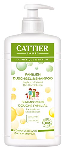 Gel de ducha familia Cattier y champú, 1er Pack (1 x 500 ml