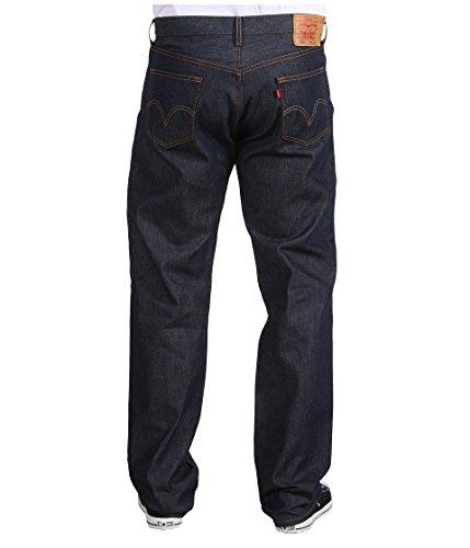 Levi's Big & Tall Big & Tall 501 Original Shrink-to Fit Jeans rígidos para adaptarse a 54 29