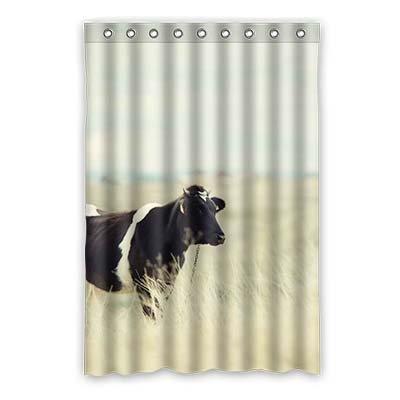 Dalliy Brauch s¨¹? kuh Wasserdicht Polyester Shower Curtain Duschvorhang 120cm x 183cm