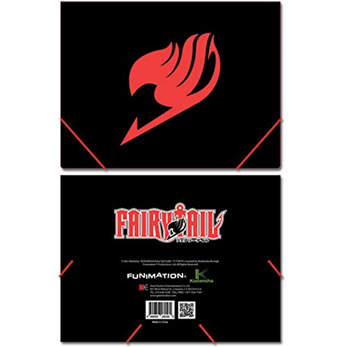 Fairy Tail Emblem Elastic Band Document Folder