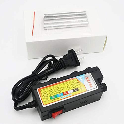shizhongminghe-ES Electrolizador de Alta precisión Aparato de electrólisis de Agua práctico 220 V TDS Herramientas rápidas de Prueba de Calidad del Agua Negro