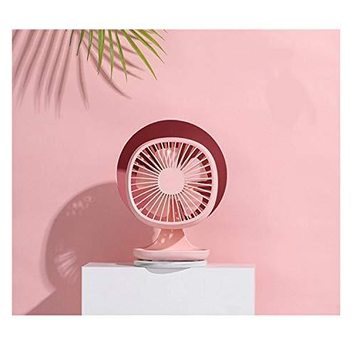 Mini ventilador de escritorio portátil ventilador Ventilador USB portátil Mini ventilador de 3 velocidades Escritorio de oficina Ventilador eléctrico pequeño Ventilador de verano Ventilador de enfriam
