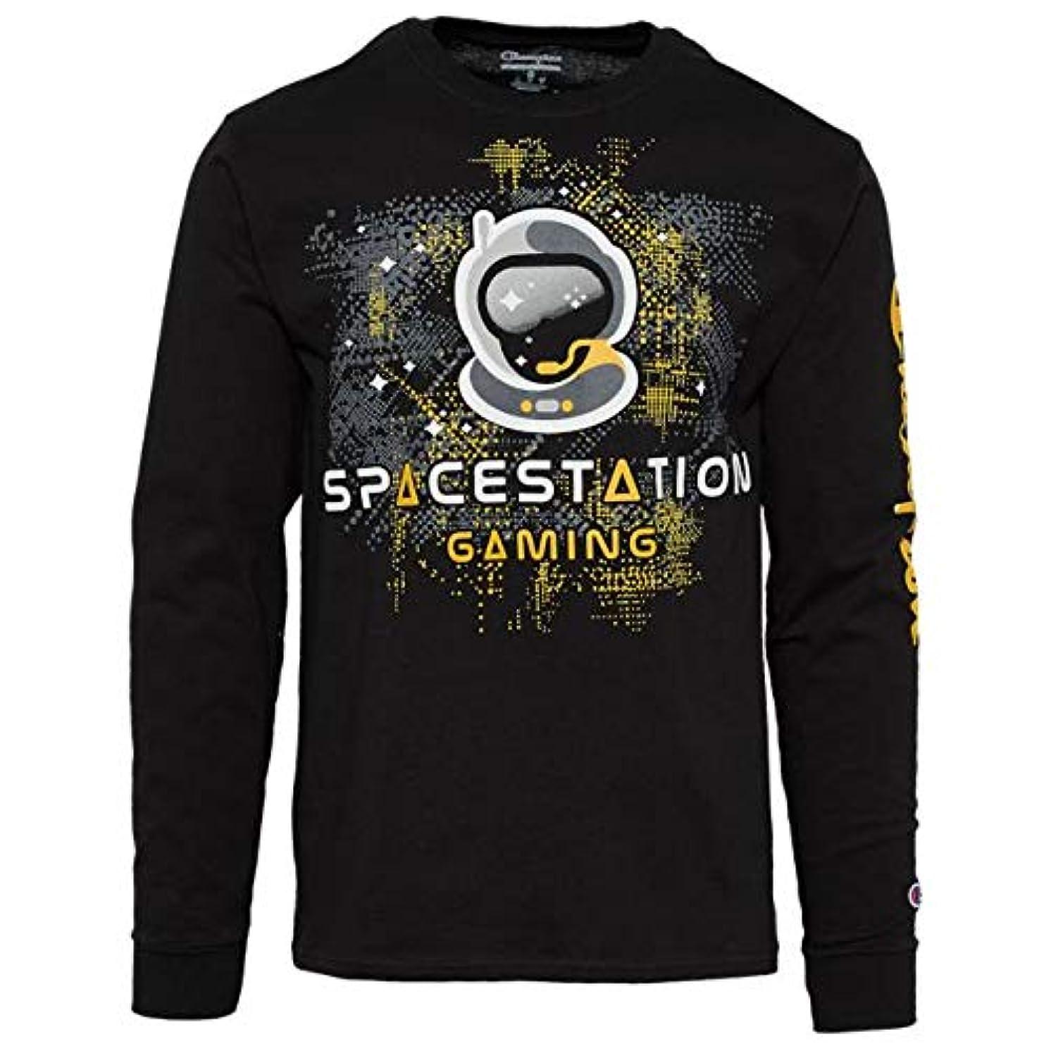 反論者シーズン政治(チャンピオン)Champion Spacestation L/S Jersey T-Shirt メンズ Tシャツ [並行輸入品]