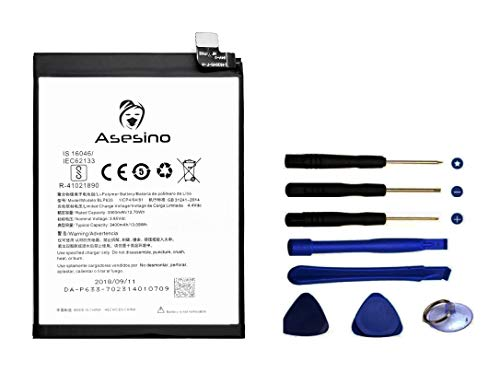 Asesino Battery Compatible with OnePlus Three 3 (3000mAh) with Replacement Toolkit BLP613 R-4102189 A3000