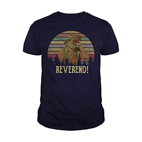 Men's Reverend Vintage T-Shirt (XL, Navy)