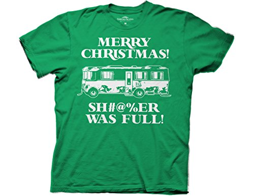 Ripple Junction National Lampoon's Christmas Vacation Merry Christmas! Sh#@%er was Full Adult T-Shirt 2XL Kelly Green