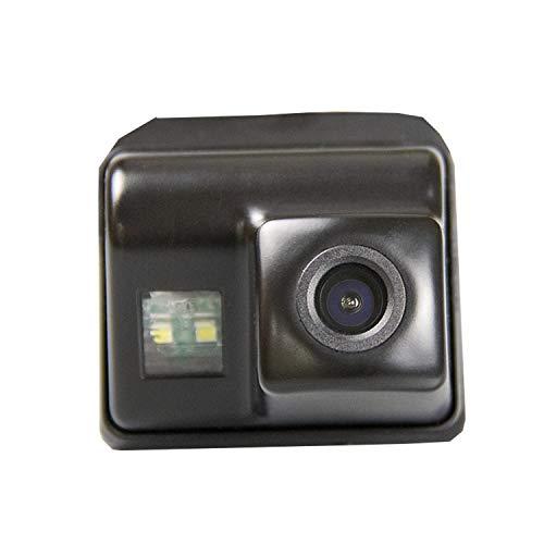 Farb Rückfahrkamera integriert in die Nummernschildbeleuchtung LED Kennzeichenbeleuchtung Kamera mit Distanzlinien für Mazda 6 2011/2012/2013 CX-5 CX-7 CX-9