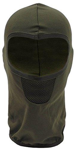 MFH 1 Loch Balaclava Tactical Sturmhaube Maske Motorradhaube Skimaske Sturmmaske viele Farben (Oliv)