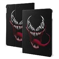 毒 ケースフィットiPad 7 th 10.2インチケース、オートスリープ/ウェイク超スリム軽量スタンドレザーケース