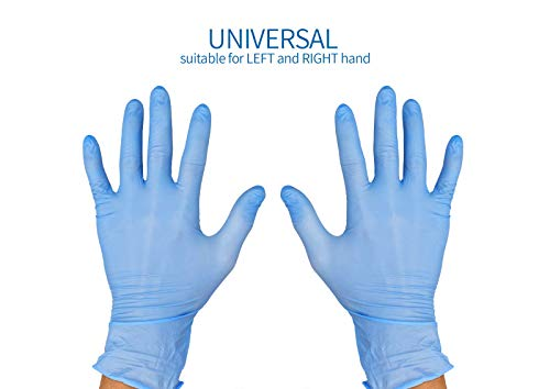 Avanti Medical Disposable Nitrile Gloves Medical Examination 100 Pcs size S non sterile for cosmetic and medical procedures, Cleaning Supplies, Kitchen and Food Safe Ambidextrous Powder-Free
