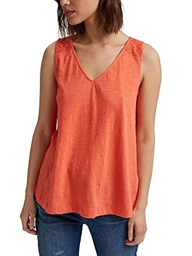 Esprit 041ee1k392 Camiseta, Coral, XL para Mujer