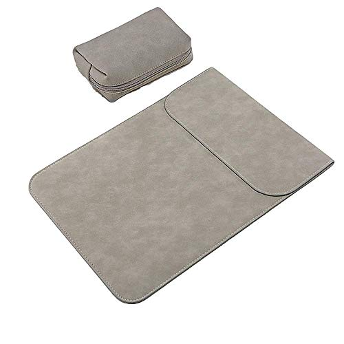 KOMI 11 Inch Laptop Sleeve Case Compatible for 11-inch laptops, 11-inch MacBook Air and Most 11-inch Ultrabooks with Small Case (11 inch, V-Gray)