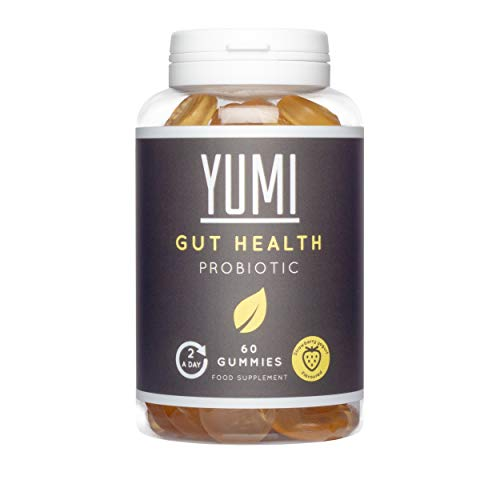 Yumi Gut Health Probiotic Gummies With Bacillus Coagulans - Effective For Digestion, Immune System, Mood, Healthy Heart And Gut Supplement | 60 Gummies |