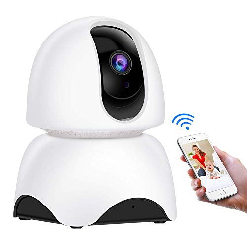 Best Buy! X&LFC WiFi IP Camera,Wireless Home Security Camera,2 Way Audio,Motion Detection, Night Vision, Cloud Storage for Home/Baby/Elder/Pet
