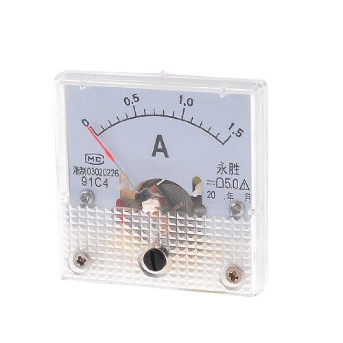 Aexit Klasse 2.5 Genauigkeit DC 0-1.5A Analoges Amperemeter 91C4 (7ff4632196b1f37ce9db6215e063b07d)