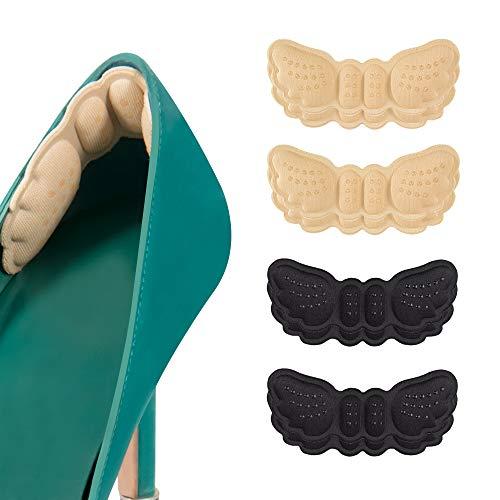 CosyInSofa Soporte para el talón, acolchado para el talón, almohadillas para el talón, almohadillas para zapatos sueltos, asas grandes, protección para el talón, protección contra las burbujas