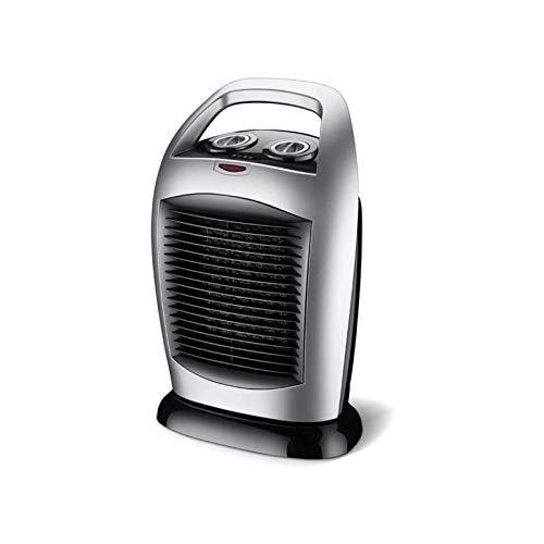 Bdesign Calentador de Ventilador de cerámica portátil Oscilating 2000W con 3 configuraciones de Calor y termostato Ajustable, protección de volcas y sobrecalentamiento, Controlador para la Oficina en