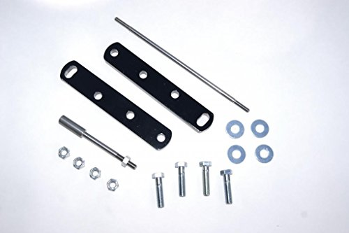 Yamaha V-Star 1100 4' Forward Control Extension Relocation Kit - Black Powder Coat, Stainless Steel Extension Depot