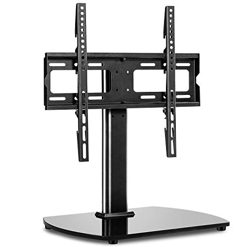RFIVER Soporte Pie TV de Mesa Peanas para TV de 27 a 55 Pulgadas - Giratorio y Altura Ajustable - hasta 40 kg máx. VESA 400x400 mm UT2002