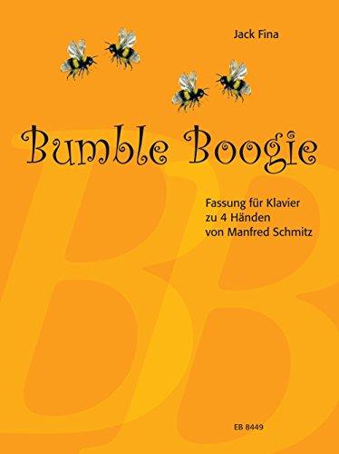 Jack Fina: Bumble Boogie. Paraphrase über den Hummelflug aus der Oper Zar Saltan von Rimskij-Korsakow. Fassung für Klavier zu vier Händen von Manfred Schmitz (EB 8449)