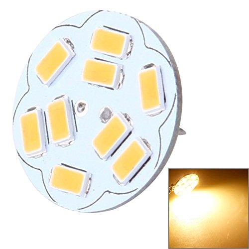 Bombillas LED La luz decorativa redonda de G4 4W 200LM 9 LED SMD 5730 para el coche/el interior/las luces al aire libre de la decoración, DC 12V, detrás fija para el hogar, la escuela, la oficina