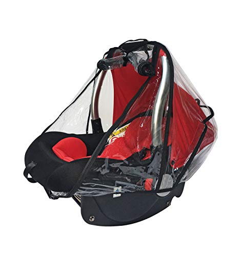 Baby & Beyond's Car Seat Rain Cover, Universal Car Seat Rain and Weather Shield, Raincover Features Quick-Access Zipper Door and Side Ventilation