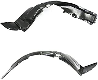 CPP Left Fender Liner for 2012-2016 Hyundai Accent HY1762105 ...