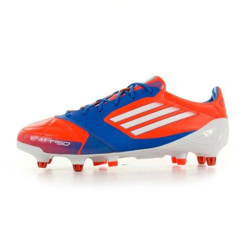 Adidas - F50 Adizero Xtrx SG Leder - V21449 - Colore: Azzuro-Rosso-Bianco - Taglia: 40.0