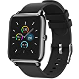Smart Watch, 1.4 Inch Touch Screen Fitness Tracker with Heart Rate Monitor & GPS, IP67 Waterproof Pedometer with Sleep Monitor, Step Counter for Women and Men…
